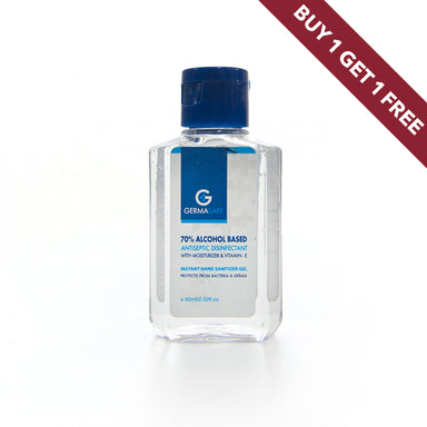 GermaSafe Hand Sanitizer Gel 60ml BOGOF - Al Haramain Perfumes