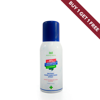 Instant Hand Sanitizer Spray with Moisturizer 100ml BOGOF - Al Haramain Perfumes