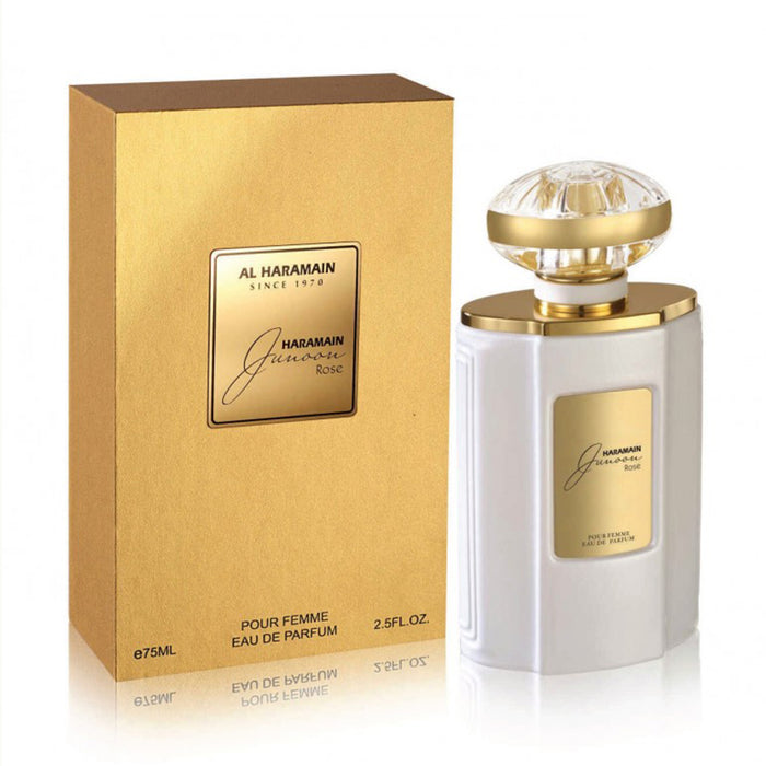 JUNOON ROSE EDP SPRAY 75ML - Al Haramain Perfumes