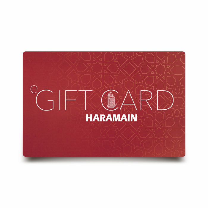 eGift Cards - Al Haramain Perfumes