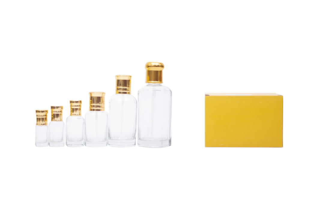 Plain Empty Bottle Dozen - Al Haramain Perfumes