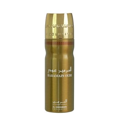 OUDI DEO BODY SPRAY 200ML - Al Haramain Perfumes