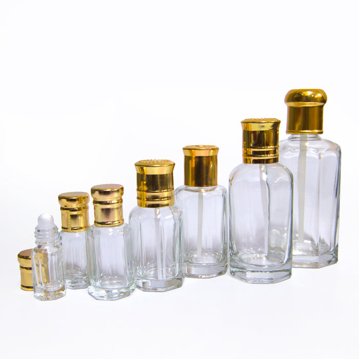 Plain Empty Bottle Dozen 100ml - Al Haramain Perfumes