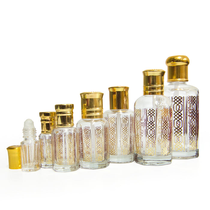 Design Empty Bottle Dozen 100ml - Al Haramain Perfumes