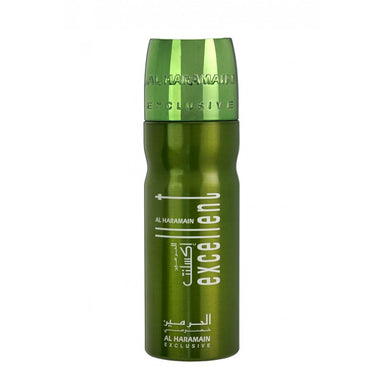 EXCELLENT DEO GREEN 200ML - Al Haramain Perfumes