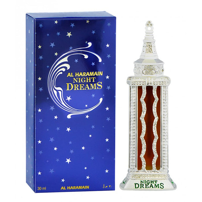 NIGHT DREAMS SILVER 30ML - Al Haramain Perfumes