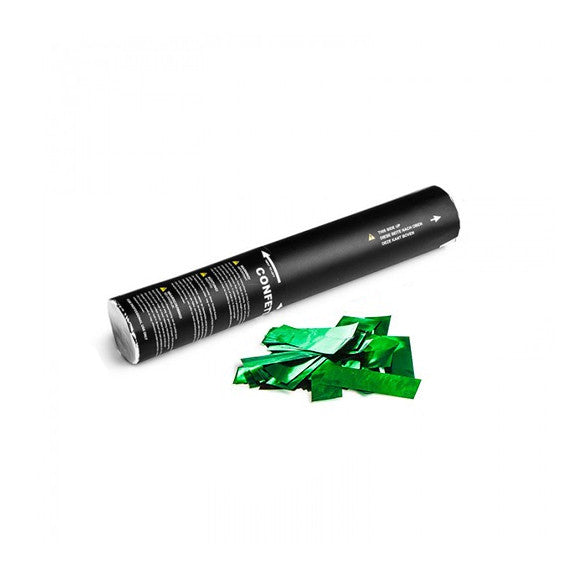 Green Metallic Confetti Cannon