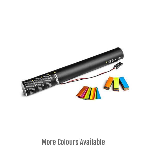 Electric Laser Metallic Confetti Cannons 80cm