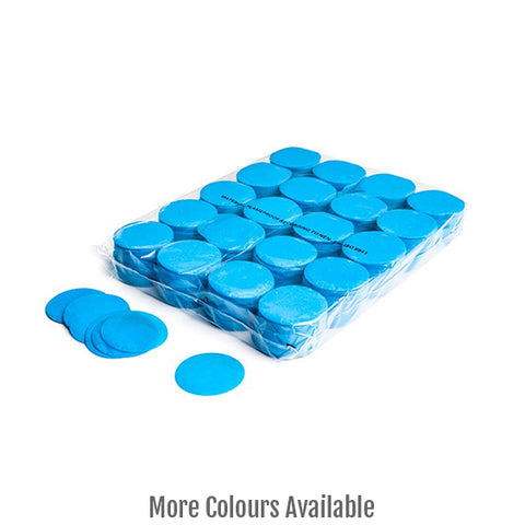 Paper Confetti Circles - Light Blue