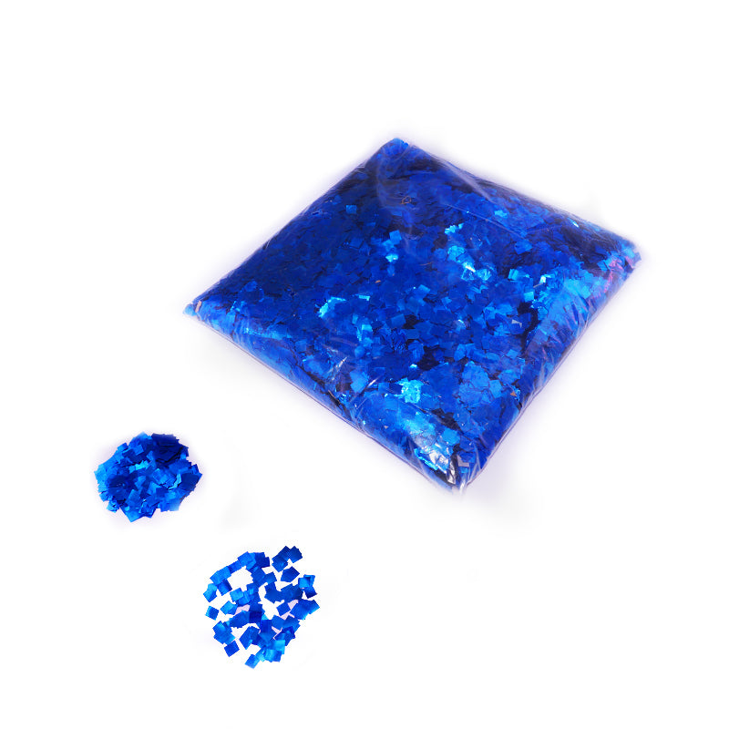 Blue Square Confetti 6x6mm