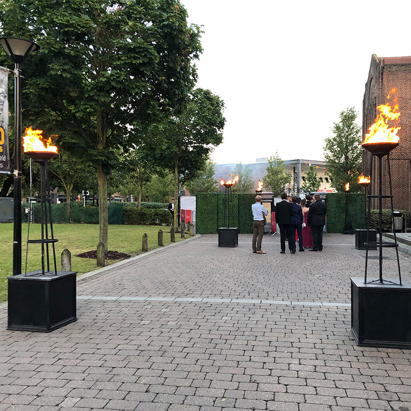 Outdoor Flame Flambeaux Hire