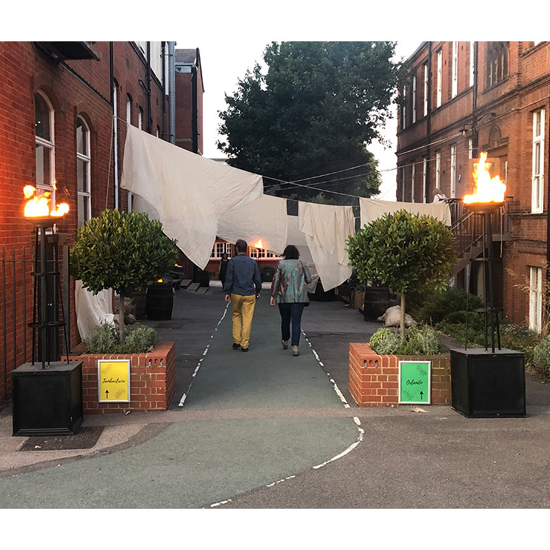 Outdoor Flambeaux Hire