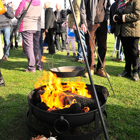Medieval Flame Cauldron Hire