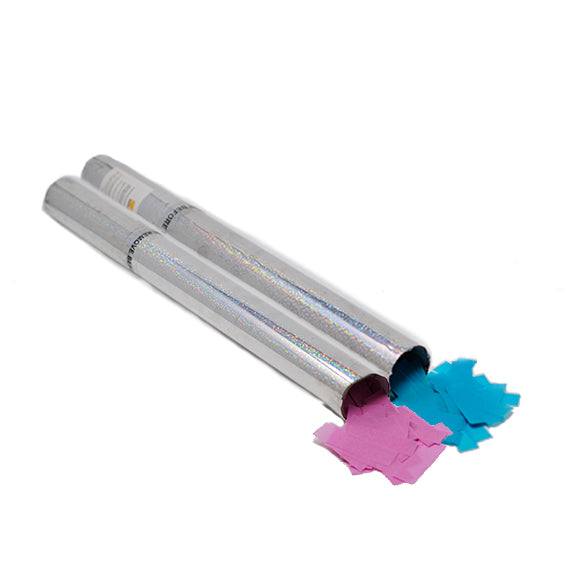 Electric Metallic Confetti Cannon 50cm
