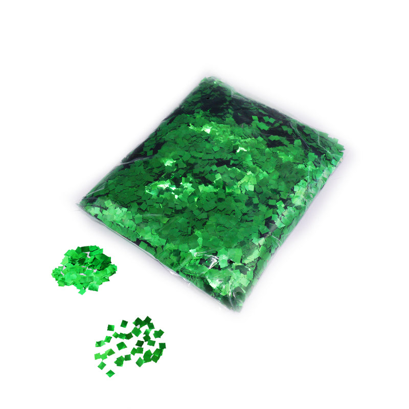 Green Square Confetti 6x6mm