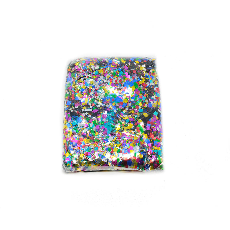 Multi Square Confetti 6x6mm