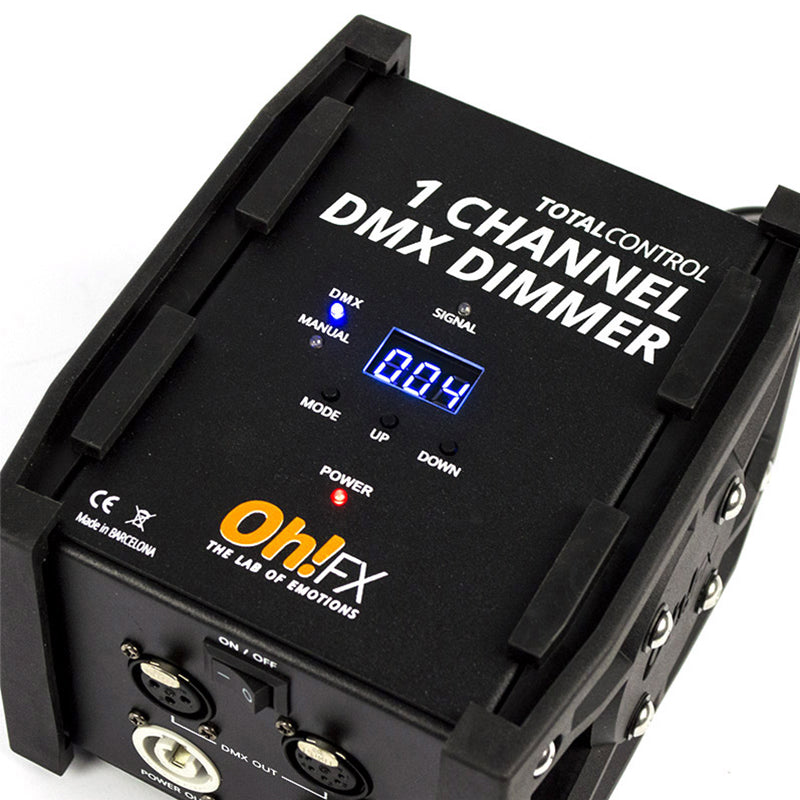 1 Channel DMX Dimmer