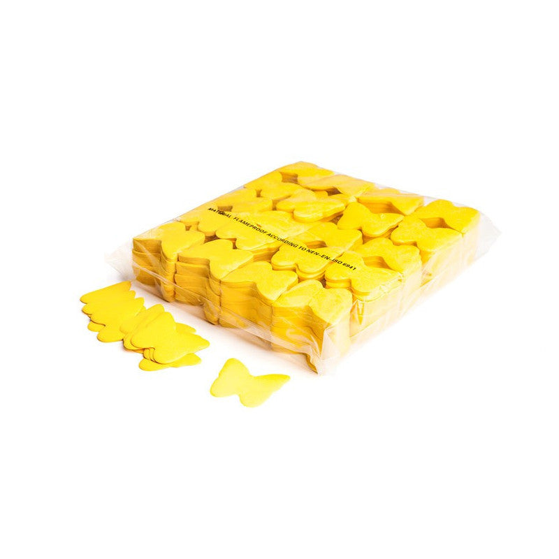 Paper Butterfly Confetti - Yellow