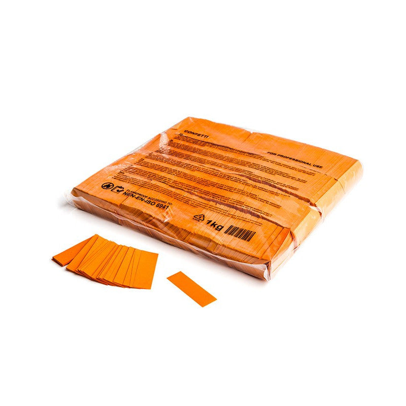 Orange Paper Confetti