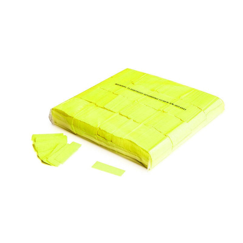 UV Paper Confetti Yellow