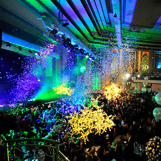 MagicFX Stage Shot Hire Confetti