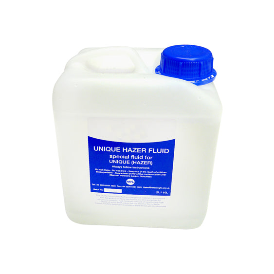 Unique 2.1 hazer fluid 2lt