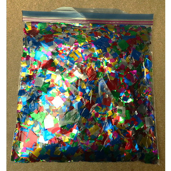 Rebagged Metallic Confetti Party Mix 500g