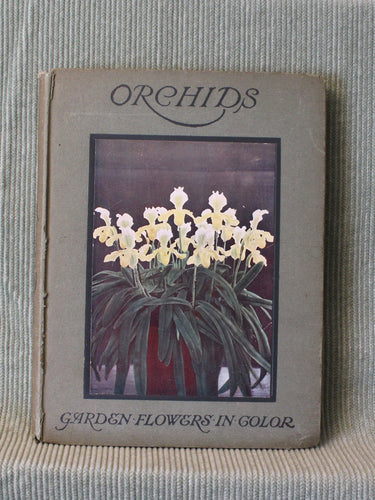 ORCHIDS- A Garden Flowers in Color Book