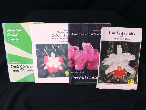 Bundle of Four Vintage Orchid Manuals