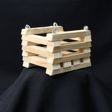"Load image into Gallery viewer, Cypress Wood Basket- 4"" x 4"""
