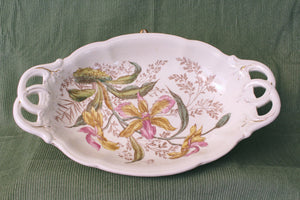 Antique German Porcelain Plate (1873)