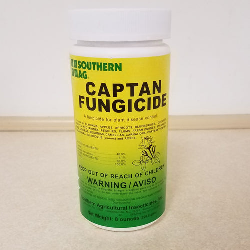 Captan- 50% WP- Fruit and Ornamental
