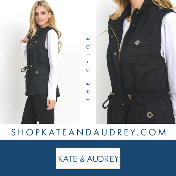 Find A Great Utility Vest At Our Online Boutique Store!