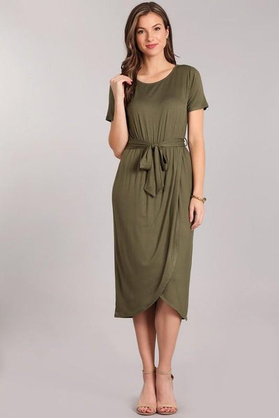 Olive Midi Dress At Our Online Boutique Store