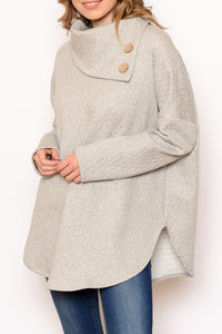 Oatmeal Grey Sweater
