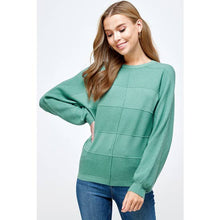 Load image into Gallery viewer, Teal Dolman Sweater