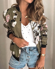 Load image into Gallery viewer, 3/4 Sleeve Bomber Jacket