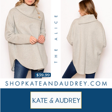 Load image into Gallery viewer, Oatmeal Grey Sweater