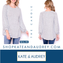 Load image into Gallery viewer, Heather Gray Sweater