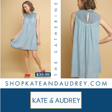 Load image into Gallery viewer, Sleeveless Powder Blue Dress