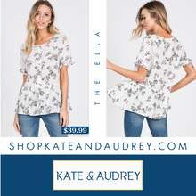 Load image into Gallery viewer, Floral Top