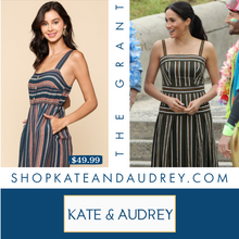 Load image into Gallery viewer, Slate Blue Midi Dress