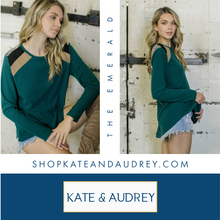 Load image into Gallery viewer, Hunter Green Sweater