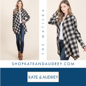 Buffalo Check Cardigan