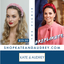 Load image into Gallery viewer, Blush Velvet Braided Headband
