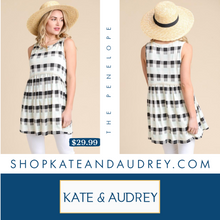 Load image into Gallery viewer, Plaid Sleeveless Top