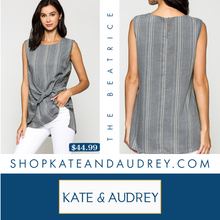 Load image into Gallery viewer, Indigo Sleeveless Top