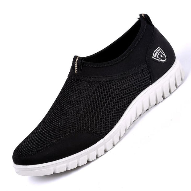 Summer Mesh Shoe Sneakers For Men Shoes Breathable Men's Casual Shoes Slip-On Male Shoes Loafers Casual Walking 38-48 - Roshyshine