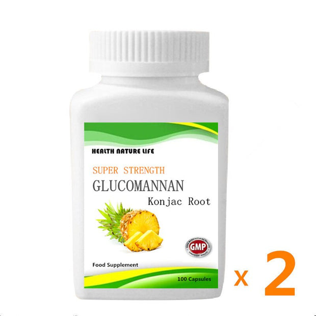 Glucomannan - Super Strength - For Men and Women Natural Weight Loss Supplements - Roshyshine