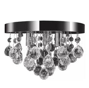 Pendant Ceiling Lamp Crystal Design Chandelier Chrome with Free Shipping - Roshyshine